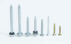 Flower Head Metal Tek Wing Screw